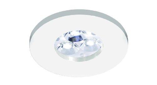 Spot encastrable circulaire en aluminium (IP65 conçu pour les environnements hú...