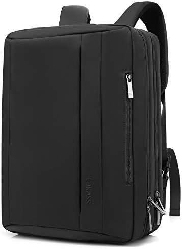LOKASS Convertible Laptop Bag Messenger Bag Shoulder Bag Backpack Multi Functional Briefcase product image