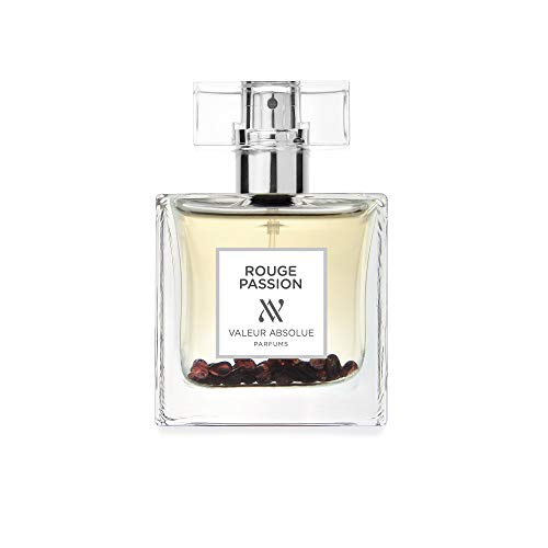 Valeur Absolue Rouge Passion Perfume | Irresistibility in a Bottle | Floral & Lively | Handmade in Southern France | 1.69 Fluid Ounces
