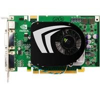PNY nVidia GeForce 9500 GT Grafikkarte (PCI-e, 512MB GDDR2 Speicher, Dual DVI-I / TV-Out, 1 GPU)