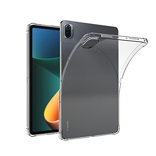 Fitudoos Cover Compatibile con Xiaomi Mi Pad 5 Mi Pad 5 PRO 11 Zoll,TPU Trasparente Ultra Sottile,Trasparente.
