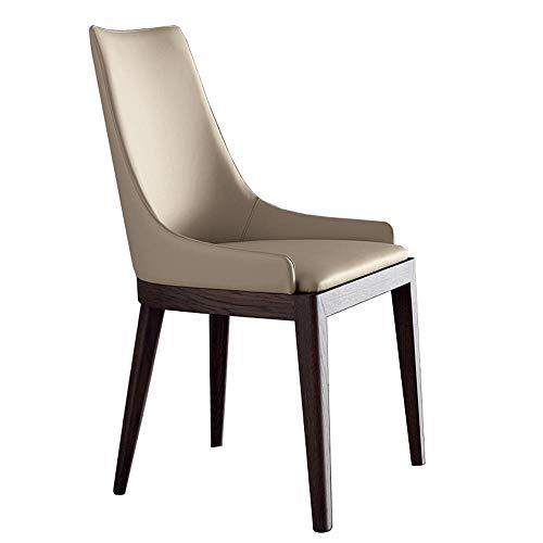 Nordic Dining Chair Designer Coffee Shop Rugleuning stoel Startskant massief houten eettafel en stoelen vrije tijd stoel modern minimalistisch
