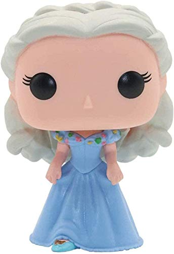 Pop figure Tiana Cinderella Bobblehead / Beauty and the Beast Bell / Rapunz / Mermaid Car Decoration (Color: B) -A-A-A-A