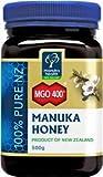 Manuka Health - MGO 400+ Manuka Honey, 100% Pure New Zealand Honey,...
