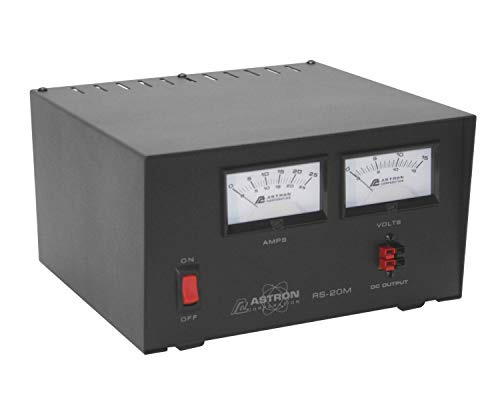 Astron RS-20M-AP Desktop 13.8VDC Linear Power Supply with Meters and Anderson Power Poles, 20A Peak, 16A Continuous by GigaParts. Compare B082P65KGZ related items.