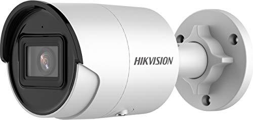 Hikvision - Cámara IP Hikvision Onvif PoE 4MP Full HD IR H.265 + Cámara Bullet 4MP - DS-2CD2046G2-I(2.8mm)