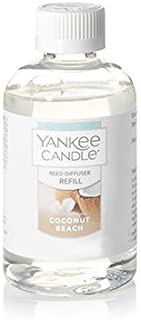 Yankee Candle Coconut Beach Reed Diffuser Oil Refill 4oz