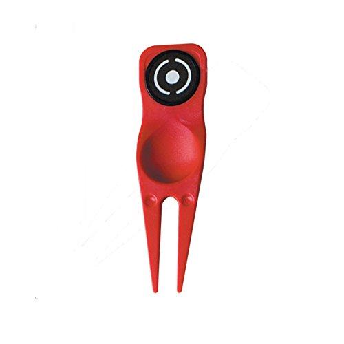 PING Divot Tool & Ball Marker (Cardinal Red) 2016 Golf