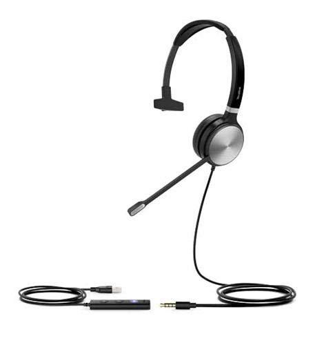 Yealink UH36 Mono-Headset (USB und 3,5 mm Klinkenstecker)