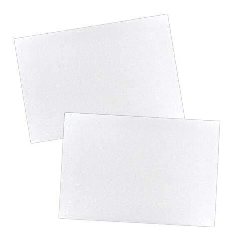 Ideen mit Herz Malkartons in Akademie-Qualität | Malpappe | Grundierte Leinwand-Pappe (30 x 40 cm | 2 Stück)