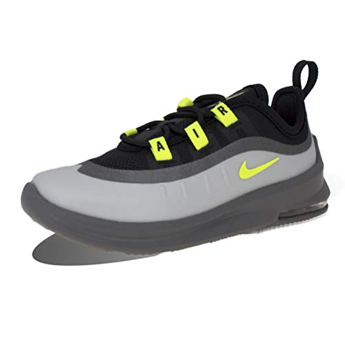 Nike Unisex Baby Air Max Axis (Td) Sneaker, Schwarz/Volt-Gunsmoke-Volt, 34 EU