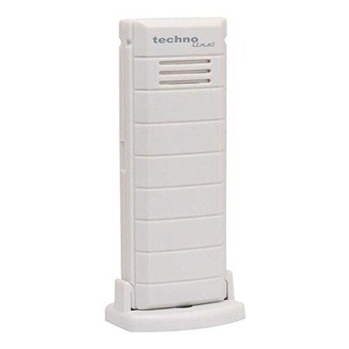 Technoline TX 38 WD-IT Sender 868 MHz (weiß mit Batterien)