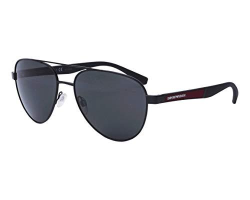 Emporio Armani Gafas de Sol EA 2105 Matte Black/Grey 59/17/145 hombre