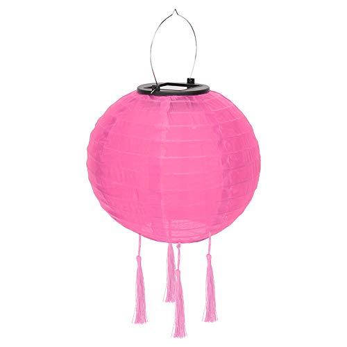 dflimited1 Linternas de papel, luces solares de la linterna china, decoraciones colgantes del globo de la linterna redonda