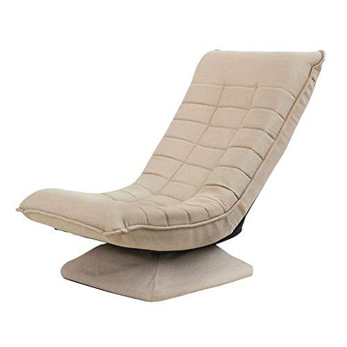 J&Z Faule Sofa Japanisch Stil Lesung Stuhl Balcony Fenster-Sitze-Seat Kreativ rotierbare Lazy Sofa,C