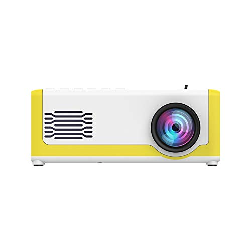 LORIEL Proyector Mini LED, Soporte De 24-60 Pulgadas De Pantalla, 1080P 3D Wireless Portable Portable Portátil HDMI USB Tarjeta SD Tarjeta De Teatro Inicio Proyector