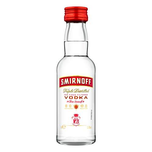 Smirnoff Vodka No. 21 Red Label 5 cl Pet MINIATUR