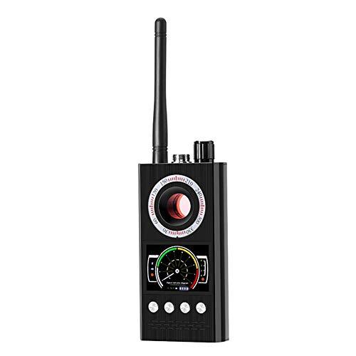 Bug RF Detector, Anti-Spion kabelloses Detektor mit sehr hoher Empfindlichkeit, GPS Spy Finder Versteckte Kamera Laser für GSM Tracker Abhörgeräte Funkkameras Wanzenfinder