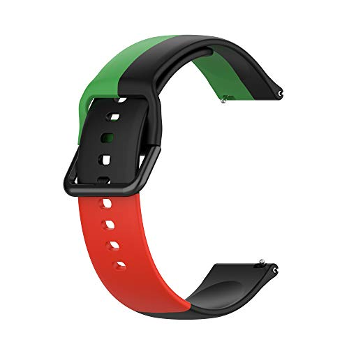 Correas de Reloj,3 Colores Correa para Fitbit Versa 2,Bandas Correa Repuesto,Flexible Silicona Reloj Recambio Brazalete Watch Correa Repuesto para Fitbit Versa 2/Versa /Versa lite/Blaze (color 4)