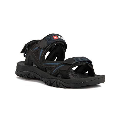 +8000 TABAS Sandales de randonnée pour homme 41 Noir
