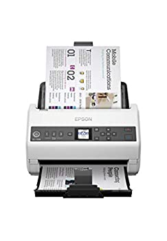 Epson DS-730N Network Color Document Scanner 100-page Auto Document Feeder  ADF  Duplex Scanning