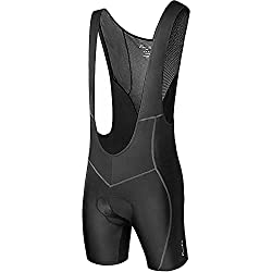 Przewalski Men's 3D Padded Cycling Bike Bib Shorts