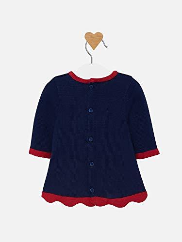 Mayoral 19-02823-027 - Vestido para bebé niña 2-4 Meses