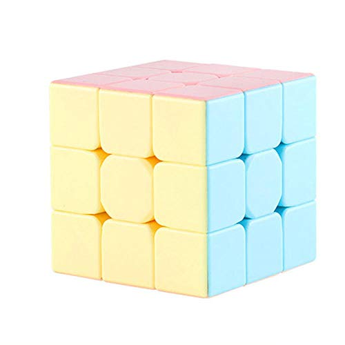 TOORY mural Colorido 3x3x3 5CM Magic Cube Competencia Profesional Speed Cube Non Stickers Puzzle Magic Cube Toy para niños