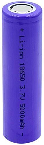 Softpoint Flat Top High Capacity 18650 Batería Li-Ium 3.7V 5000mAh Batería de Litio Recargable para Linterna 4pcs-PC 1