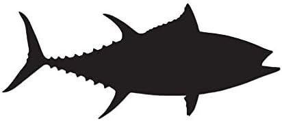 Vinyl Decal Sticker Bigeye Tuna Fish Multiple Colors /& Sizes ebn3698