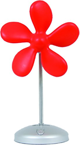 Sonnenkönig of Switzerland rot Flower Fan, 9 W, 230 V