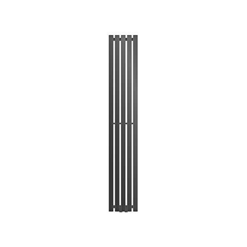 ECD Germany Stella Design Radiador de panel - 260 x 1600 mm - Antracita - Radiador toallero agua calefaccion - Calentador de baño - Calefaccion de pared - No eléctrico -