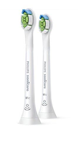 Philips Sonicare Pack de 2 cabezales de repuesto W2 Optimal White Mini...
