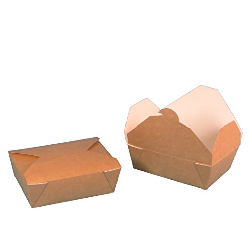 450 Bio Foodboxen Snackboxen Pastaboxen Lunchboxen braun weiß fettdicht Recycling+Frischfaser 100{8a856eebdde4abb83d06526830b69f42e72d929414e32e7bee7795a7872a5d1d} biologisch abbaubar verschiedene Größen zur Auswahl (155x115x50mm)