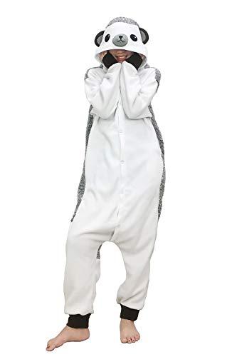 Lifeye Unisex Hedgehog Pajamas Adult Animal Cosplay Costume Gray