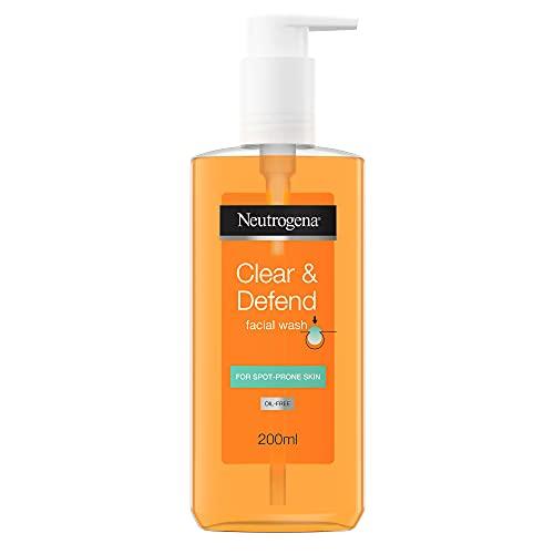 Neutrogena Clear and Defend Gesichtsreiniger, 200 ml