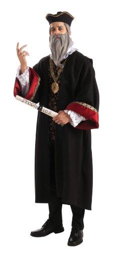 Rubie's Deluxe Nostradamus With Accessories, Black, Standard