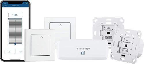 Homematic IP Smart Home Starter Set Beschattung – WLAN, 156450A0