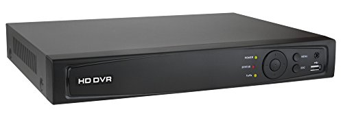 HDVD HDVD-HD-M04 Support 4CH HD-TVI/Analog camera hybrid, Full channel 1080P@ 15fps or 720P@ 30fps recording DVRs.(without HDD)