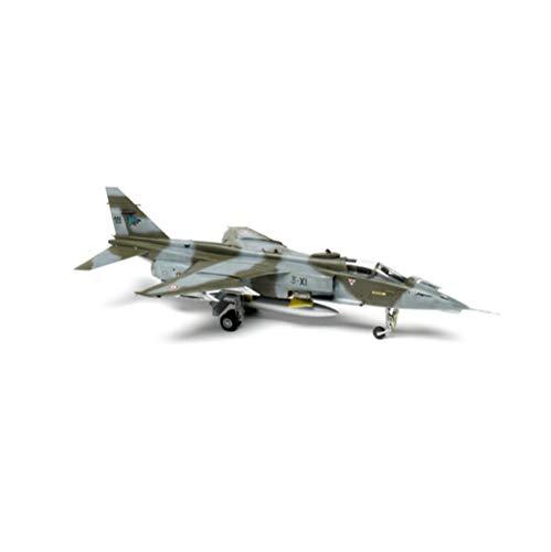 X-Toy Military Fighter Puzzle Model Kits, 1/72 Scale Francia Sepecat Jaguar A Un Entrenador Modelo De Plástico, 9.2 Pulgadas X 4.8 Pulgadas