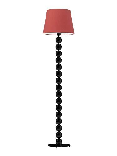 BANGKOK - Lámpara de pie, color rojo y negro