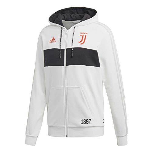 adidas Herren JUVE FZ HD Sweatshirt, blabas/schwarz, XL