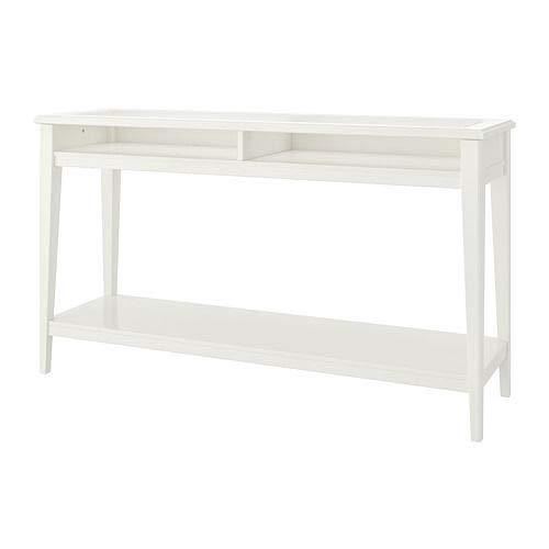 IKEA LIATORP Konsolentisch weiß/glas
