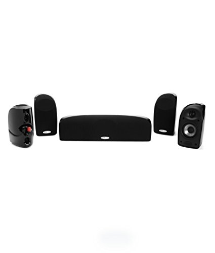 Polk Audio TL150 Speaker (5-pack, Black)
