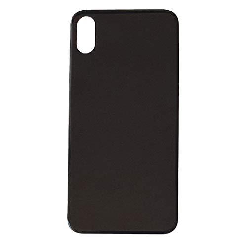 Smartex Ricambio Vetro Scocca Posteriore Compatibile con iPhone X | Back Glass (Grigio siderale - Sideral Grey)