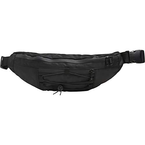 Urban Classics Unisex Gürtel-Tasche Banana Shoulder Bag Damen/Herren Umhängetasche, 38 cm, Black