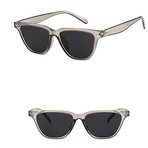 Ygerbkct 5174 Gafas de Sol Deportivas Trendy Mi Nail Gafas de Sol Conducción Personalidad Color Espejo Diseño de Marca de Lujo
