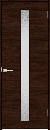 ラシッサS 標準ドア ASTH-LGD 錠付き 0620 W:734mm × H:2,023mm 吊元:右吊元 本体色/枠色:クリエダーク(DD) 枠種類:ノンケーシング95(壁厚:64-75) 沓摺:埋込沓摺(A枠) 把手:サークルB 鍵種類:丸型シリン