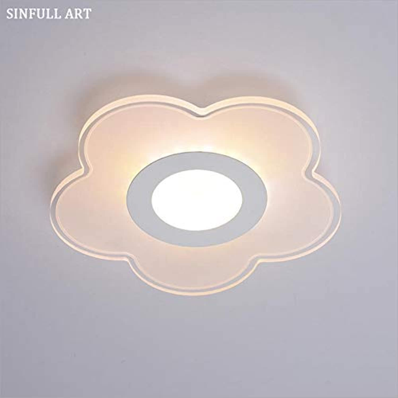 HNZZN Acryl wandleuchte schlafzimmer led licht moderne 8 watt 12 watt runde weie wandleuchte innenbeleuchtung für zuhause AC85-265V leuchten, 8 watt, Warmwei (2700-3500 Karat)