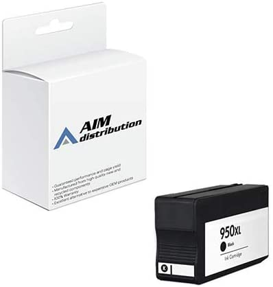 AIM Compatible Replacement for HP NO. 950XL Black Inkjet (2300 Page Yield) (CN045AN) - Generic